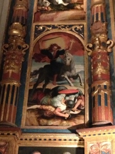from a church in Seville